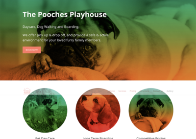 The Pooches Playhouse